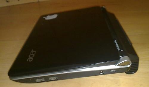 Acer Aspire One d150 con bateria de 6600mAh