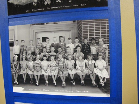 Mrs. Hovik's 1st Grade Class, Lincoln School (Arlington WA), 1958
