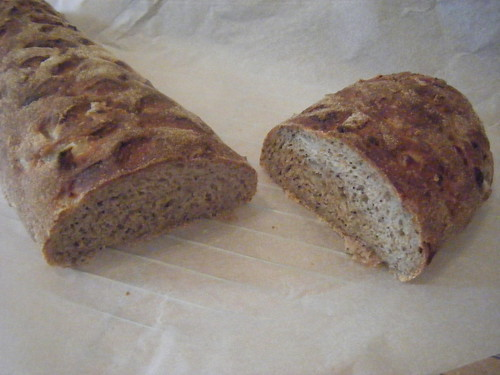 Onion Poppy seed bread