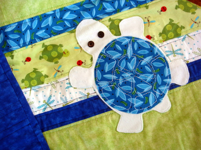 Turtle Quilt Detail