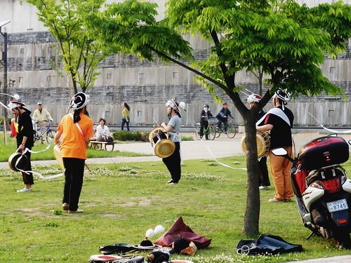 Pungmul @ Ttukseom Hangang Park