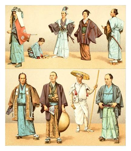 012-vestimentas japonesas -Geschichte des kostüms in chronologischer entwicklung 1888- A. Racinet