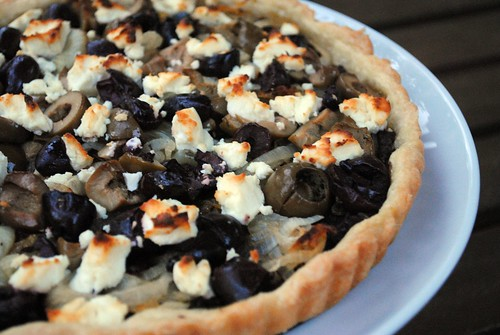 olive-goat-cheese-tart