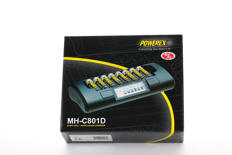 POWEREX MH-C801D充電器(不專業開箱)
