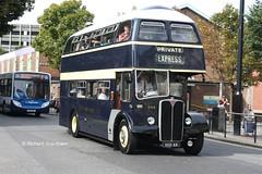 East Yorkshire 644, VKH44. (EYBusman) Tags: street city bus yorkshire centre traditional east motor preserved hull regent prospect willowbrook services aec eyms regentv eybusman vkh44