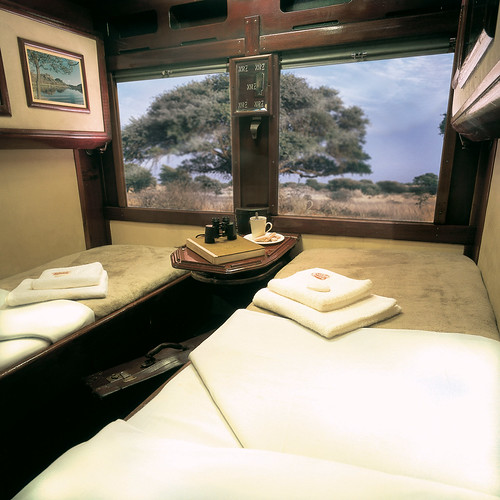 The Shongololo Express - Ivory class cabin (Southern Africa)