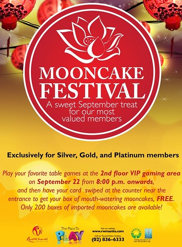 Moncake Festival at the Resorts World Manila - Maxims Hotel
