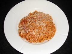Rød pasta