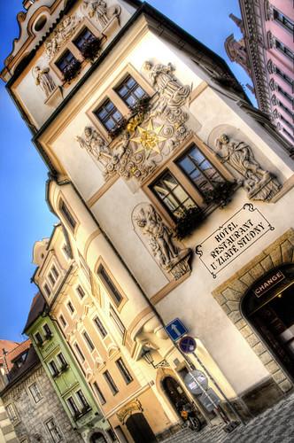 A hotel at Praga. Un hotel de Praga