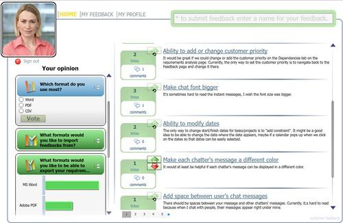 Cstomer survey software - customer portals