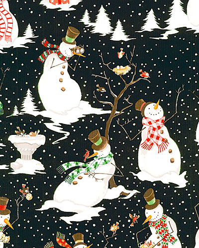 snowmen cotton