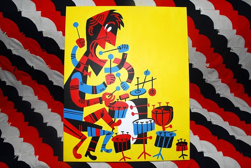Krupa Troopa: Stop-Motion Painting of Jazz Drummer Gene Krupa