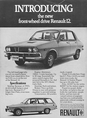 1971 Renault 12 Ad (dave_7) Tags: 1971 ad renault 12