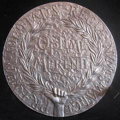 RNS Medal reverse