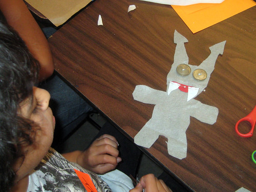 Tuesday class ~ making monster dolls