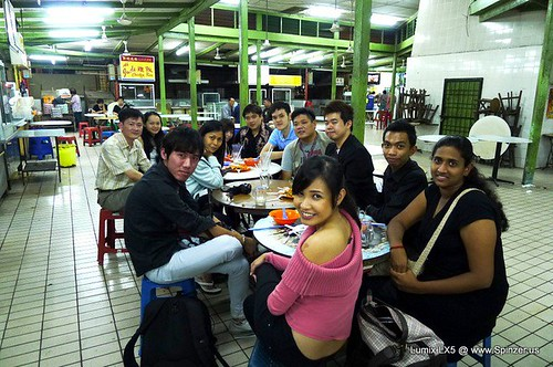 kuching night dinner gang2