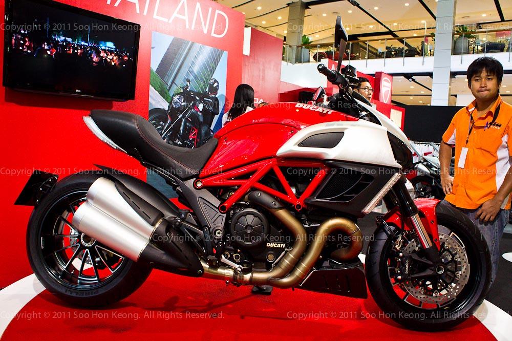 Ducati @ Bangkok Motorbike Festival 2011, Thailand
