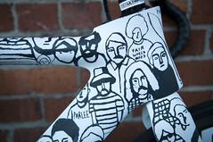 Head-tube detail (Parlee + Fairwheel Bikes + McFetridge 3 Speed Fixie) (scurvy_knaves) Tags: oregon portland cycling nikon track gear bicycles fixed pdx fixie velo geoffmcfetridge d90 parlee ciclisimo hetfairwheelpodium mcfetridge3speedfixie fairwheelbike