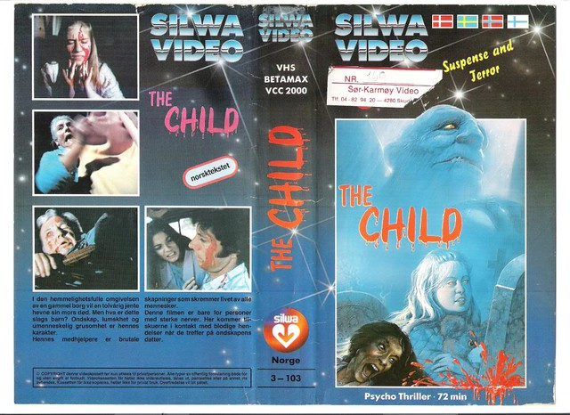 The Child (VHS Box Art)