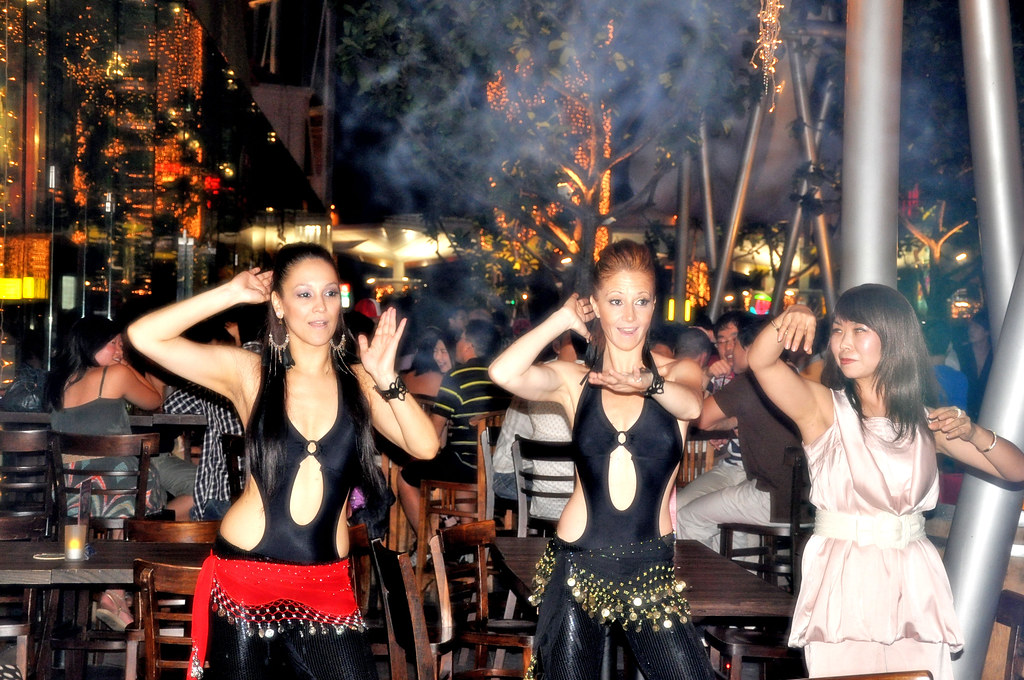 Smoking Samba Dancers and the Apprentice