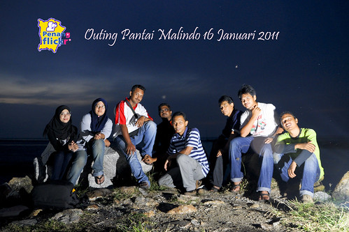 Outing Pantai Malindo 16 January 2011