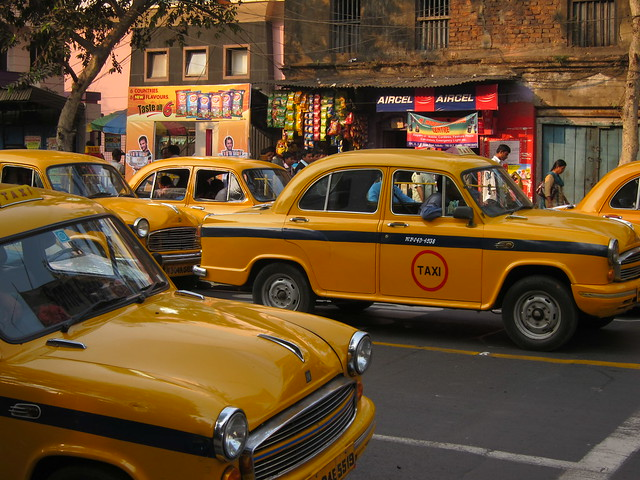 Cabs in Calcutta
