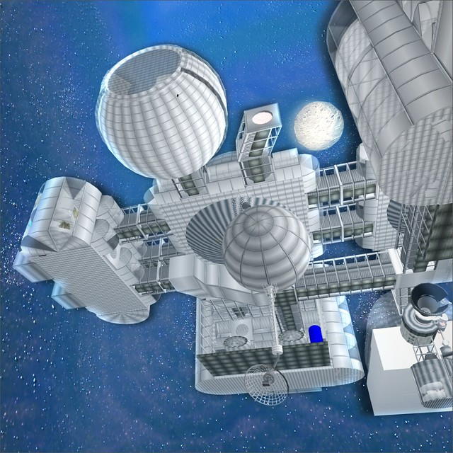 SS Enigmatic Space Station