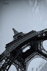 Eiffel Tower - || (saleh alghasham || Ebdaa3i.com) Tags: paris france tower ex dc sony sigma eiffel alpha 55 1020mm saleh   f456    alghasham