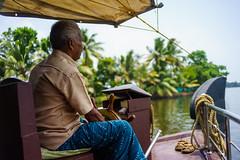 The captain (nprisadnikov) Tags: kerala india backwaters captain boat house houseboat voigtlanderultron28mmf2 voigtlander godsowncountry
