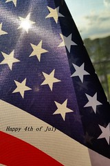 Happy 4th of July (Theresa*) Tags: 4thofjuly flag red white blue stars sun cell phone cellphone independenceday