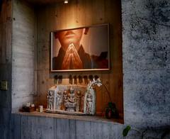 覺醒,是生命的開始  Aware, Is the beginning of life (葉 正道 Ben(busy)) Tags: taiwan temple 寺院 religion 宗教 faith 信仰 dali 大里 菩薩寺 buddhaˍtemple buddha taichung 小沙彌 覺醒 aware