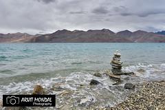 Pangong Lake Landscape Photograph from Ladakh (arijit mandal) Tags: pangong ladakh kashmir landscape lake nature