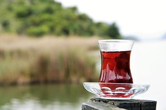 Tea Enjoyment (senemanli) Tags: tea noperson bokeh macro nature drink enjoyment food naturelover pentax k5iis k5 kadrajimdan kadrajturkiye objektifimden allshots travel reflection green
