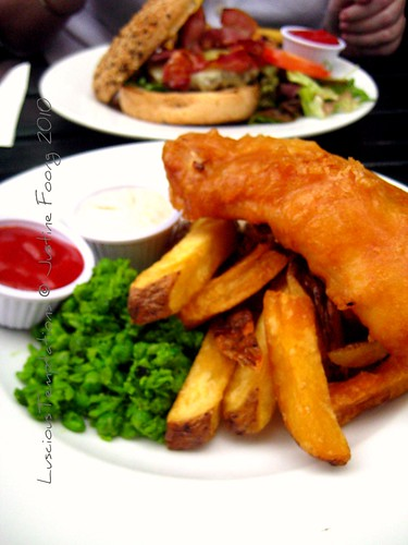 Burger and Fish & Chips - The Woolpack, Bermondsey
