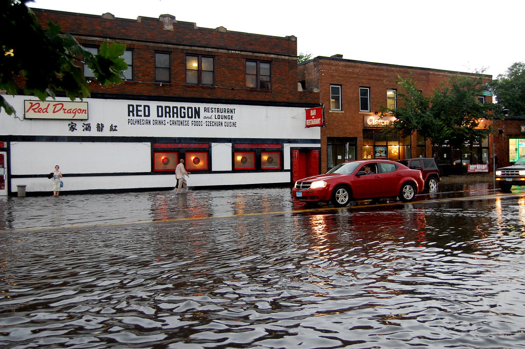 Red Dragon Flooded