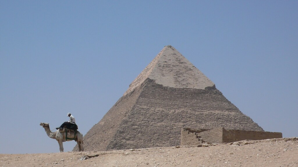 哈夫拉金字塔(Pyramid of Khafre), on Flickr
