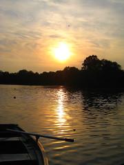 Sunset in lake @ Provinciaal Domein Kessel-Lo (Kristel Van Loock) Tags: sun sole sunset tramonto tramonti coucherdusoleil zonsondergang provinciaaldomeinkessello leuven louvain drieduizend vijver pond lake