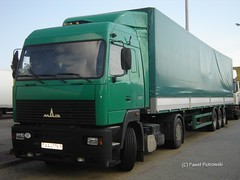 "MAZ 5440- ""no name"" (BY) (E65-Trucks) Tags: road truck long transport east international lorry belarus distance minsk 5440 maz lkw tir haulage belorussia winoujcie zavod avtomobil gruzavik"