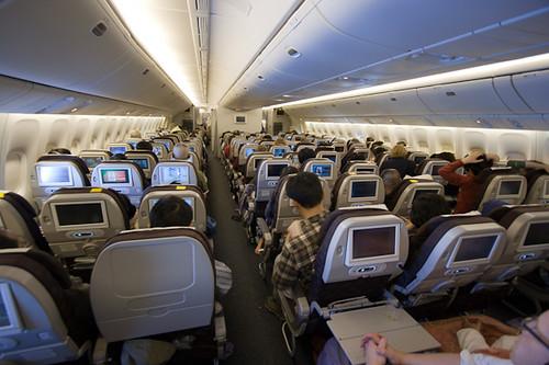 Korean Air: Seattle->Icheon