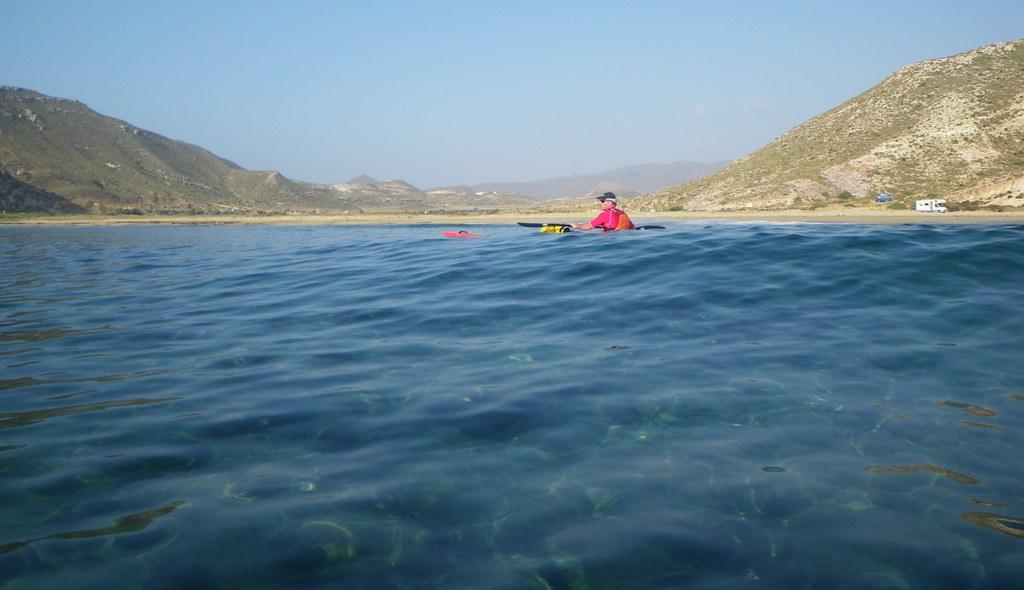 Cabo de Gata en kayak 320