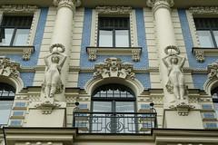 Lettland (Latvia) - Riga (aadu) Tags: latvia riga lettland riia 5photosaday lti vanagram