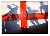 Silhouetted and Booted! (Mark-Crossfield) Tags: pictures uk greatbritain england abstract silhouette photo football team image photos flag soccer picture images worldcup players footie englandfootball photosof picturesof englandflag imagesofengland comeonengland worldcup2010 markcrossfield