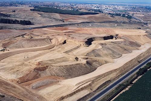Movimiento de tierras en Cerro Gordo