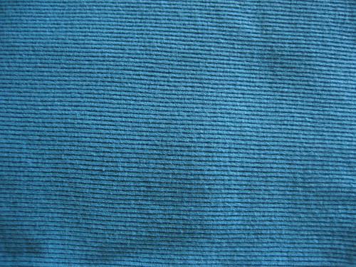 Turquoise Rib Knit
