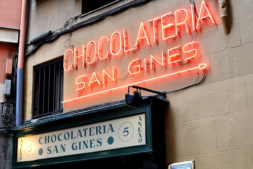 Chocolateria San Gines - Madrid