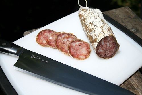 Sugimoto with sopressata