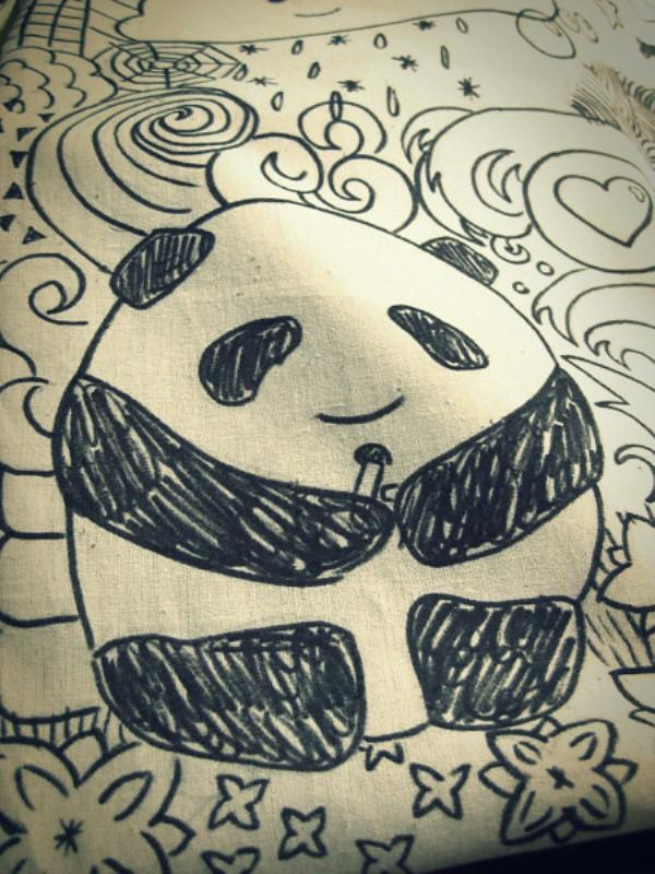 Minä Itte! textile marker DIY totebag by Inka 2 phixr