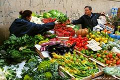 Fresh Italian Veggies (Michael Roedel) Tags: street people italy rome market vegetable vendor roedel
