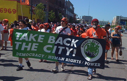 right to the city march