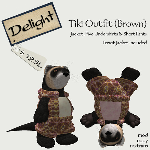 Brown Tiki Outfit